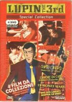 Lupin the 3rd Special Collection 4 FILM n. 4 DVD in Cofanetto NUOVO. Shin Vision