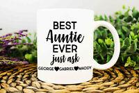 Best Auntie Ever Mug Auntie Mug Auntie Gift Auntie Coffee Mug Gift For Auntie