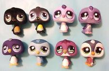 Littlest Pet Shop Penguin Lot #333,339,676,686,821,1085,1085 variant,1494