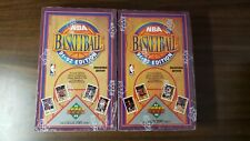 2 Factory Sealed Boxes 1991-92 Upper Deck Series 1, (72 Wax Packs), Jordan
