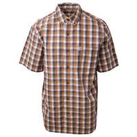 Carhartt Men's S01 Box Plaid S/S Woven Shirt (Retail $40)