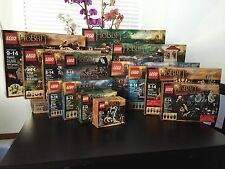 Lego The Hobbit Entire Collection All Sets Retired New Factory Sealed
