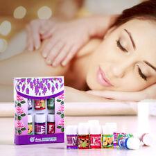 6stk Essential Öle 100% reine natürliche Aromatherapie Öle für Spa Bad Massage