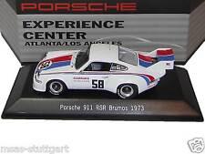 Museo Porsche 911 RSR Brumos 1973 experience Center Atlanta/L.A. SPARK 1/43