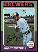 1975 Topps Bobby Mitchell Milwaukee Brewers #468