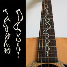 Gothic Vine Guitar Fret board Markers Inlay stickers