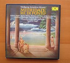 DG 2740 180 Mozart Mitridate Re Di Ponto Leopold Heger 4xLP Box Set NM/VG