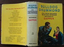 Sapper Omnibus - 4 in 1 Vol - Bulldog Drummond - Four Rounds with Carl Peterson