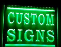Custom Neon Sign Any Picture/Logo Advertising Shop Pub Bar Man Cave Etc