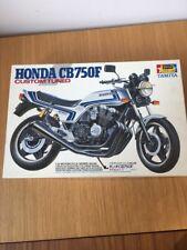Tamiya 1/12 Honda CB750F Custom sintonizado Moto excelentes condiciones raras