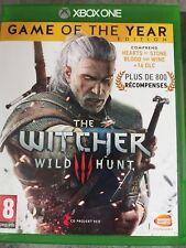 The Witcher 3 : Wild Hunt - édition jeu de l'année XBOX ONE comme neuf