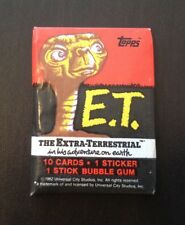 1982 Topps E.T. (The Extra Terrestrial) - Wax Pack (Ring Pop Variation)