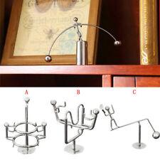 Newton's Cradle Balance Balls Physics Classic Science Mini Fun Desk Toy Office