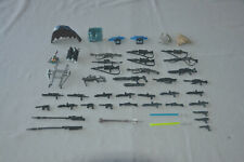 Lot of 45 Loose Star Wars Guns, Accessories and Other Parts