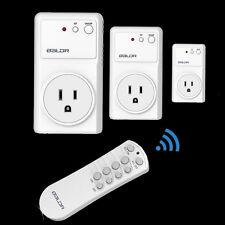 Baldr US Wireless Remote Control Power Plug Socket For Light Phone TV Computer