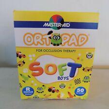 Master-Aid Ortopad Soft Boys 50 Eye Patches Regular 85x59 mm