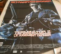 XXL Filmplakat ,TERMINATOR 2 ,LE JUGEMENT DERNIER.ARNOLD SCHWARZENEGGER#2