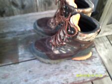 Bushnell hunting camouflage boots size 4 m worn very little!
