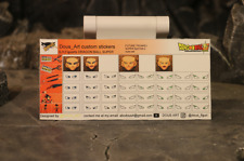 custom eyes stickers for s.h.figuarts dragon ball super eyes stickers trunks ss2