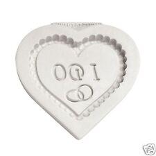 Katy citare me CUORE PLACCA stampo in silicone-WEDDING CAKE Sugarcraft