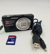 Panasonic LUMIX DMC-SZ1 16.1MP Digital Camera - Black