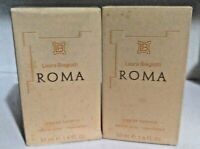 Laura Biagiotti Roma for Women EDT 2X 1.7oz / 50ml = 3.4oz / 100ml Old formula