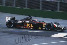 "Mark Webber ""Minardi"" Autogramm signed 20x30 cm Bild"