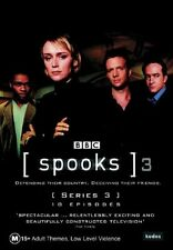 Spooks : Series 3 (3-Disc Set)- DVDS LIKE NEW FREE POST AUSTRALIA WIDE REGION 4