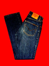 JEANS energia ITALY w27 l32 DARK BLUE DENIM Branded Western merce nuova!!! TOP!!!