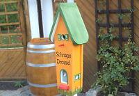 """Vogelvilla Turm """" Schnaps Drossel """" Vogelhaus ein Original Unikat 292 / 1"""