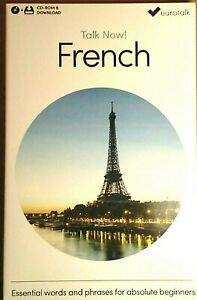 French Talk Now  Euro talk CD ROM & Download Code REDUCED