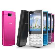 Original Unlocked Nokia X3-02 Touchscreen GSM WIFI 3G Black White Rose Blue