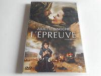 DVD NEUF - L'EPREUVE / JULIETTE BINOCHE film de ERIK POPPE - ZONE 2