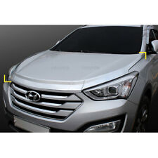 Chrome Bonnet Guard Hood Guard Molding for Hyundai Santa Fe SPORT 2013-2017