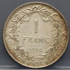 Belgie - Belgium 1 Franc 1910  - KM# 72
