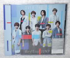 J-POP Hey! Say! JUMP OVER THE TOP 2017 Taiwan CD+DVD (Ltd Ver.A)