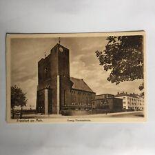 Frankfurt am Main. Evang. Friedenskirche Germany Postkarte Unposted Postcard