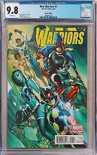 New Warriors 1 1:50 J Scott Campbell Variant CGC 9.8 Marvel Comic Scarlet Spider