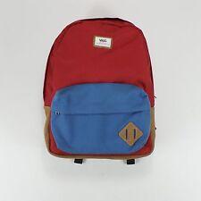 Vans Old Skool II Red/Blue Backpack/Rucksack/Shoulder Bag