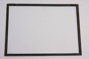 "4 11/16 x 6 7/8"" Cut Film Adapter for 5x7"" Glass Plate Holder - Kodak USED E35A"