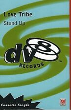 1996 HTF POP HOUSE DANCE CASSETTE SINGLE: LOVE TRIBE - STAND UP (A&M/DV8)
