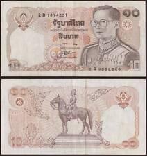 THAILANDIA 10 BATH 1980
