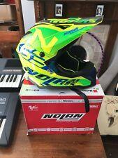 NOLAN N53 casco dan por LED Amarillo Motocross Mx Enduro Bmx Off Road Flo-medio