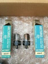 NOS ARCTURUS 6SN7GTB Pair vintage tubes