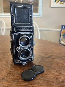 1951-1954 Rolleiflex Automat 3.5 A Schneider Xenar TLR Camera Serviced Working
