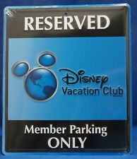 Disney Cruise Line Dvc Member Cruise 2014 Reserved Parking Stamped Metal Sign