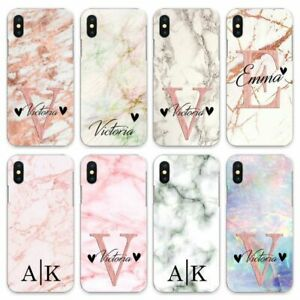 INITIALS CASE PERSONALISED FOR APPLE IPHONE 6S/7/8/X/XS/MAX/11 Pro fun designs