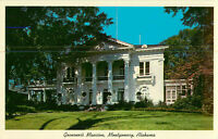 Postcard Governor's Mansion Montgomery Alabama