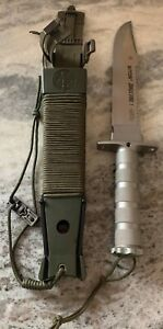 Aitor Jungle King I Survival Fixed Blade Knife & Sheath Made in Spain