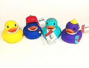 Infantino Fun Time Duck Rubber Ducky Duck Bath Toy Party **CHOOSE YOUR COLOR**